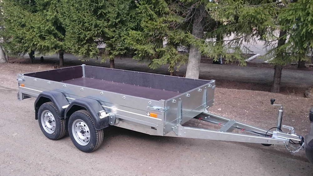 Двухосный прицеп для легкового автомобиля в тюмени